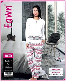 Пижамы женские, домашние костюмы с брюками