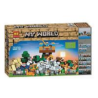 Конструктор BELA Minecraft Набор для творчества 10733 (Аналог LEGO Minecraft 21135) 723 дет