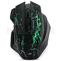 Мышь Crown CMXG-601 игровая, 1800dpi, подсветка, USB, чёрный, фото 2