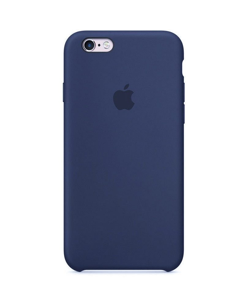 Силиконовый чехол для iPhone 7 Plus  dark blue