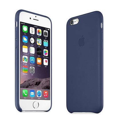 Силиконовый чехол для iPhone 7 Plus  dark blue, фото 2