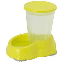 Автоматическая поилка для собак, Moderna МОДЕРНА СМАРТ,  29х19х26 см, 3 л (лимонный)