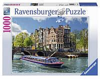 Пазл Экскурсия по каналу Амстердам 1000 элементов Ravensburger (RSV-191383)