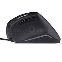 Мышь Crown CMM-960 Health, 1600dpi, USB, чёрный, фото 2
