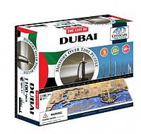 Объемный пазл 4D Cityscape Дубаи ОАЭ 1100 элементов (40046)