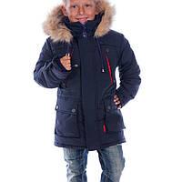 Зимняя куртка для мальчика Марк   новинки 2017