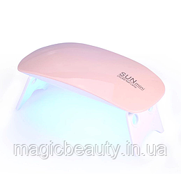 УФ LED лампа светодиодная SUN mini 6 Вт Розовая