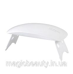 УФ LED лампа светодиодная SUN mini 6 Вт Белая