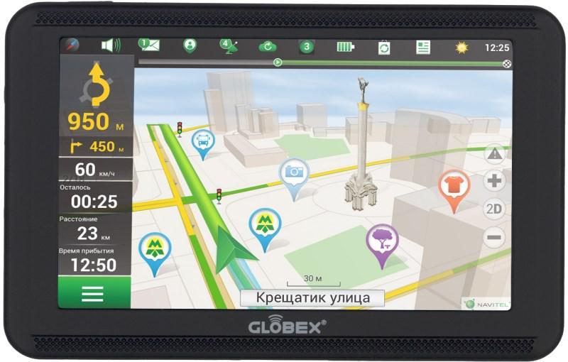 GPS навигатор Globex GE520