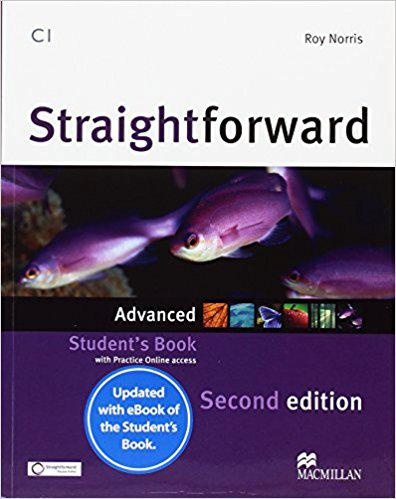 Straightforward Second Edition Advanced Student's Book with Online Access Code and eBook (Учебник)
