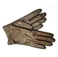 M391ItalКоричневый Перчатки мужские кожа кашемир зимние