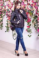 Модная женская демисезонная куртка C M L +большие размеры
