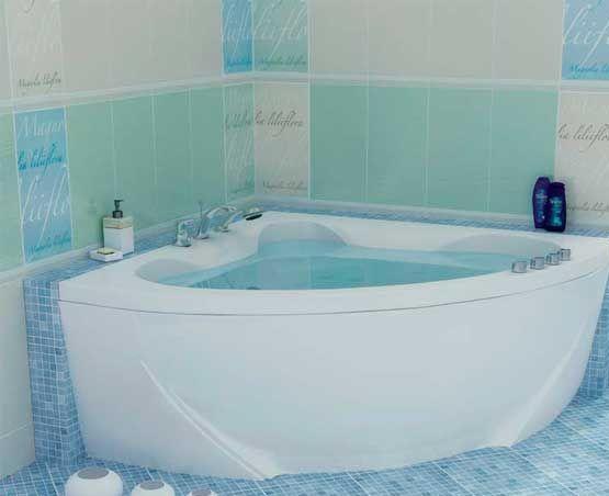 Гидромассажная ванна с врезным смесителем Triton Сабина, 1600х1600х680 мм