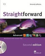 Straightforward Second Edition Advanced Workbook with key and Audio-CD (Рабочая тетрадь)