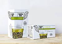 Чай Hello tea Green tea 20шт Зеленый