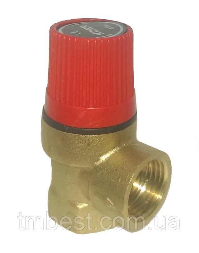 Клапан предохранительный для отопления