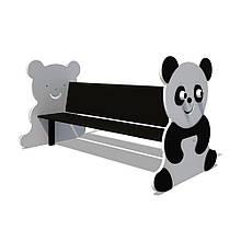 """Детская скамейка """"Панда"""""""