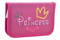 Пенал книжка Princess 1 отворот, фото 1