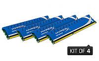 Крутая геймерская память Kingston DDR3-2400 8Gb (4x2Gb) PC3-19200 HyperX Genesis - в идеале!!!