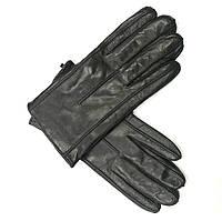 M460ItalЧёрный Перчатки мужские кожа кашемир зимние