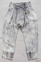 Капри галифе серого цвета для девочки (122 см.) A-yugi Jeans 2125000490441