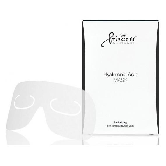 Princess Eye Mask with Hyaluronic Acid and with Aloe Vera Маска для глаз 4шт