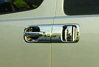 Тюнинг автозапчасти для ручек Hyundai H1 2008+ (4 шт) нерж.