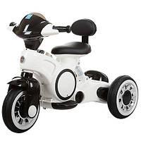 Детский трицикл Bambi Белый (M 3296L-1) со светящимися колесами