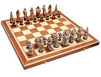 Шахматы Madon Fantazy Intarsia камень коричневые (63159)