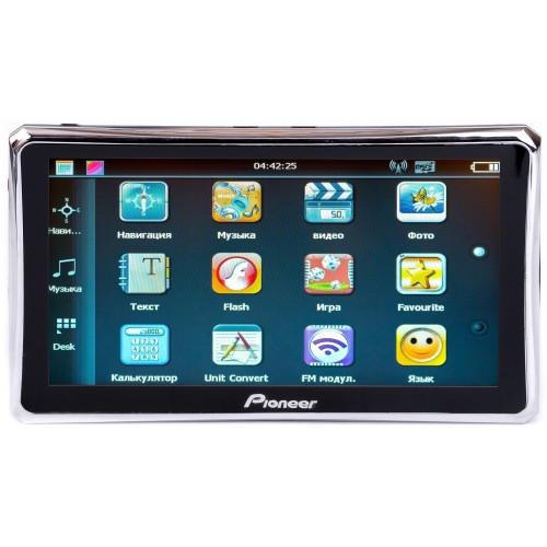 GPS навигатор Pioneer X76 с картой Украины