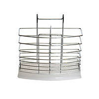 Навесная сушка для столовых приборов прямоугольная Feniks
