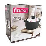 Кастрюля с крышкой Fissman DEL FUOCO 4 л. (Жаропрочная керамика), фото 2