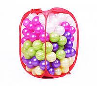 """Шарики для сухих бассейнов 467-140 перламутровые, 140 шариков диаметром 70 мм, ТМ """"Орион"""" (Royaltoys)"""