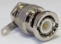 Штекер BNC монтажный по кабель RG-58, латунь