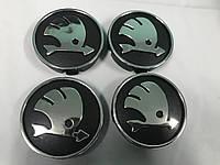 Skoda Fabia 2008-2014 Колпачки в обычные диски 55 мм