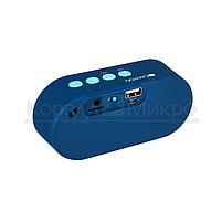 Колонки портативные 1.0 Canyon CNS-CBTSP3 RMS 4W, Bluetooth, микрофон, microSD, питание от аккумулятора, синий, фото 3
