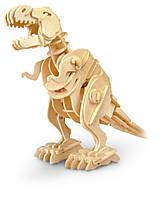 Интерактивный конструктор 3D пазл Robotime Тиранозавр мини (T-Rex D210)