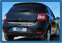 OmsaLine Накладка на кромку багажника Sandero 2013