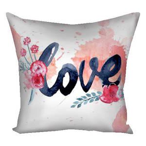 Подушка подарок с принтом Любовь 30х30 см