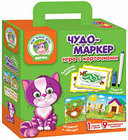 Настольная игра Vladi Toys Чудо-маркер Ферма (VT2100-12)