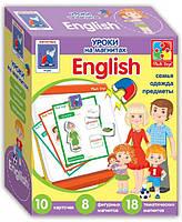 Настольная игра Vladi Toys Английский язык на магнитах Семья (VT1502-11)