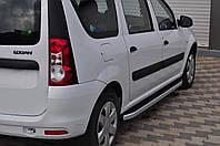 Renault Logan MCV Боковые площадки Fullmond Добло 2010