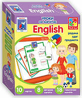 Настольная игра Vladi Toys Английский язык на магнитах Семья (VT1502-17)