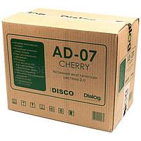 Колонки 2.0 Dialog AD-07 RMS 24W, FM, USB, microSD, ПДУ, МДФ, вишня, фото 5