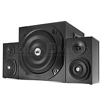 Колонки 2.1 Crown CMS-3801 RMS 40W, FM, USB, SD,ПДУ, МДФ, чёрный, фото 2
