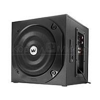 Колонки 2.1 Crown CMS-3801 RMS 40W, FM, USB, SD,ПДУ, МДФ, чёрный, фото 3