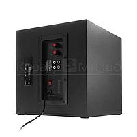 Колонки 2.1 Crown CMS-3801 RMS 40W, FM, USB, SD,ПДУ, МДФ, чёрный, фото 4