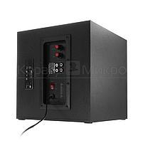 Колонки 2.1 Crown CMBS-401 RMS 40W, Bluetooth, FM, USB, SD,ПДУ, МДФ, чёрный, фото 4