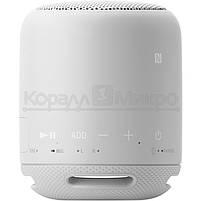 Колонки портативные 1.0 Sony SRS-XB10 RMS 5W, Bluetooth, микрофон, влагонепроницаемые, питание от аккумулятора, белый, фото 2