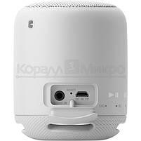 Колонки портативные 1.0 Sony SRS-XB10 RMS 5W, Bluetooth, микрофон, влагонепроницаемые, питание от аккумулятора, белый, фото 3